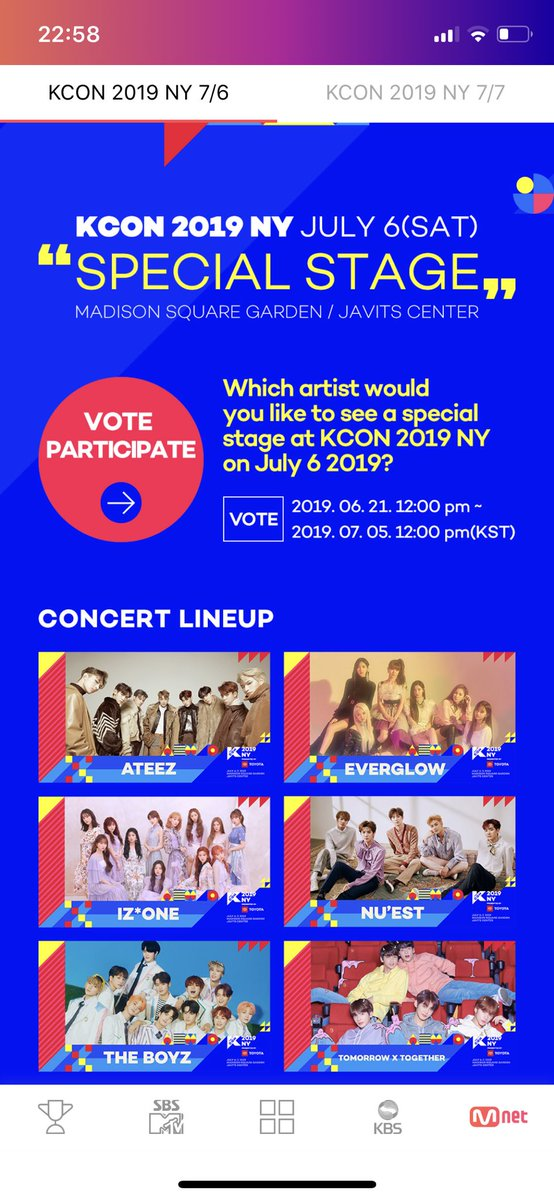 ATINY  Keep voting for ATEEZ on STARPASS App for 'KCON 2019 NY'!  We're so close to 1st place! Download the STARPASS App and VOTE  #ATEEZ #ATEEZ_OneToAll #KCON19NY @ATEEZofficialpic.twitter.com/APkzK7eerx  by ATEEZ Updates
