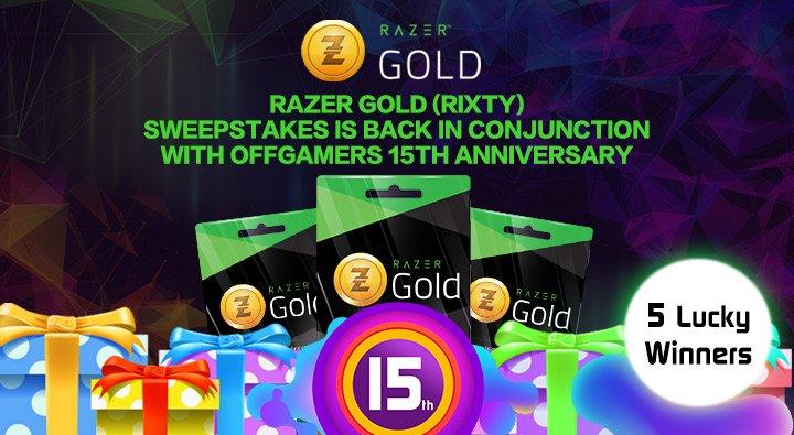 Razer Gold (@rixty) | Twitter