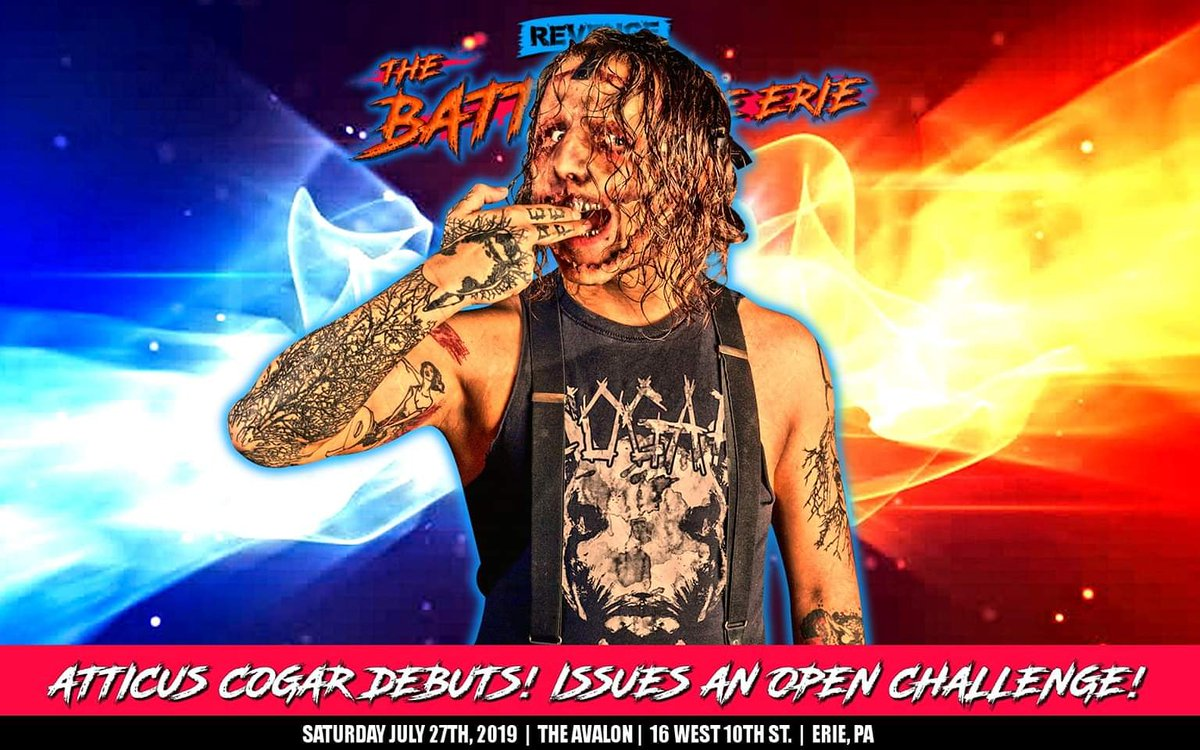 The #SilverTeethSatan @Atticus_Cogar is not your average high flyer. He can hang with the best of them in the air but he's also a gritty violent sociopath.  This violent monster is debuting with an open challenge at #BOLE2019. Who will have the guts to accept?  #SellOutTheAvalon<br>http://pic.twitter.com/eUF9peRqUI