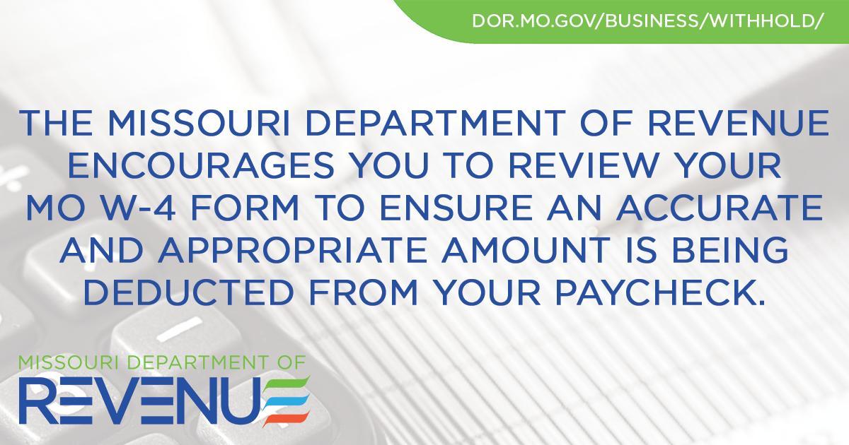 Missouri Department of Revenue (@MissouriRevenue)   Twitter