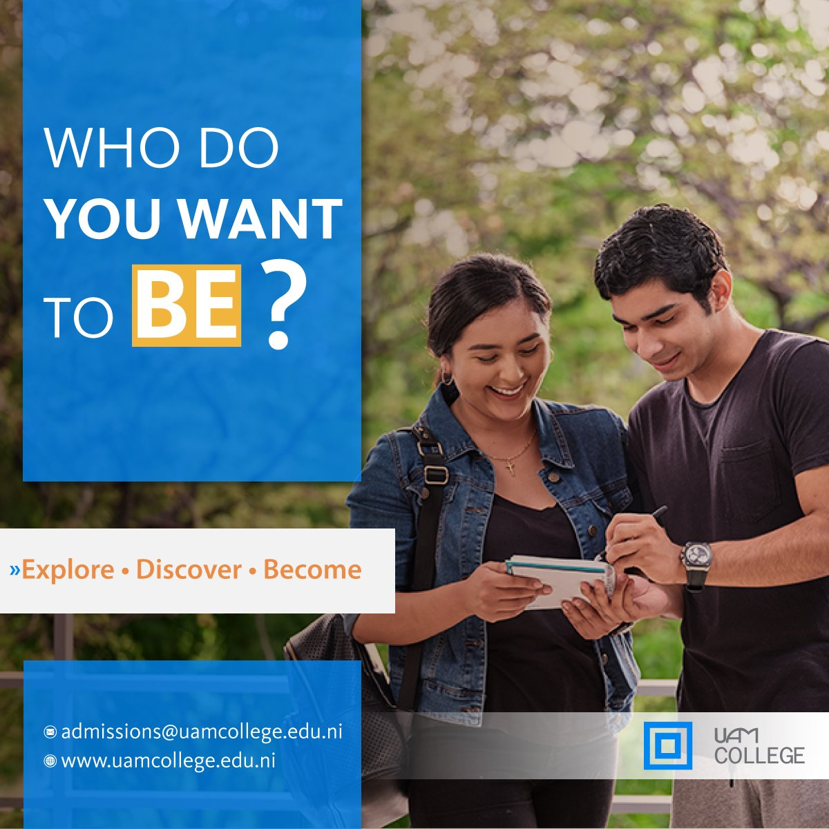 #BeInspiring #BeExponential #BeVisionary #BeAdventurous #BeLifeChanging  #BeUAMCollege https://t.co/MGugFH8zCI