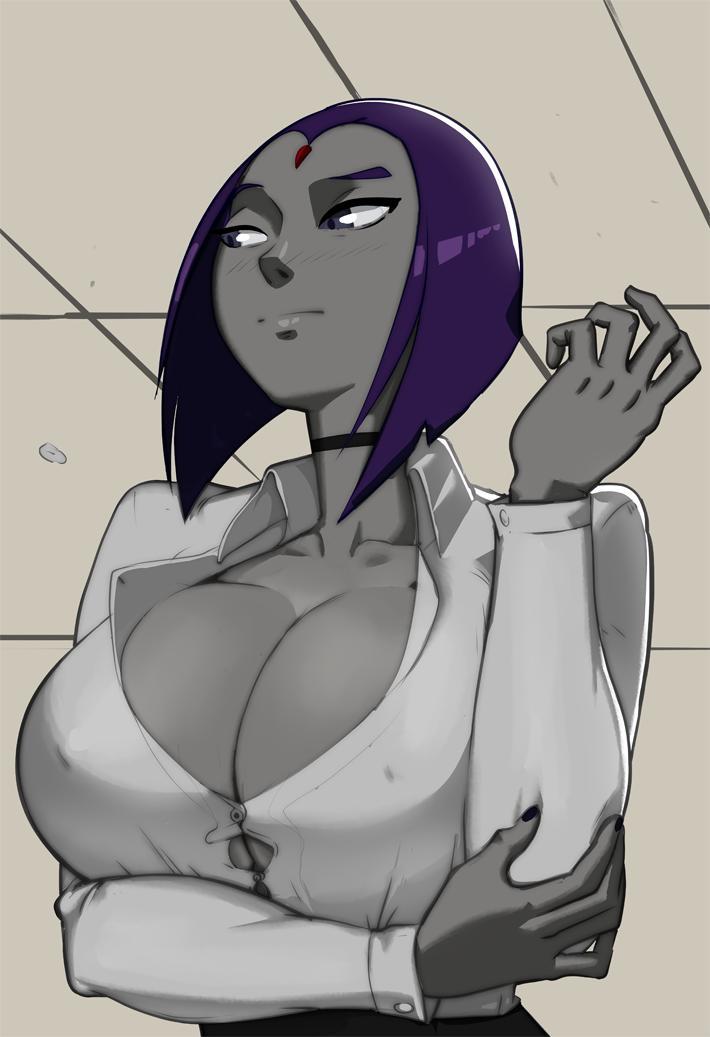 Raven big tits anime porn