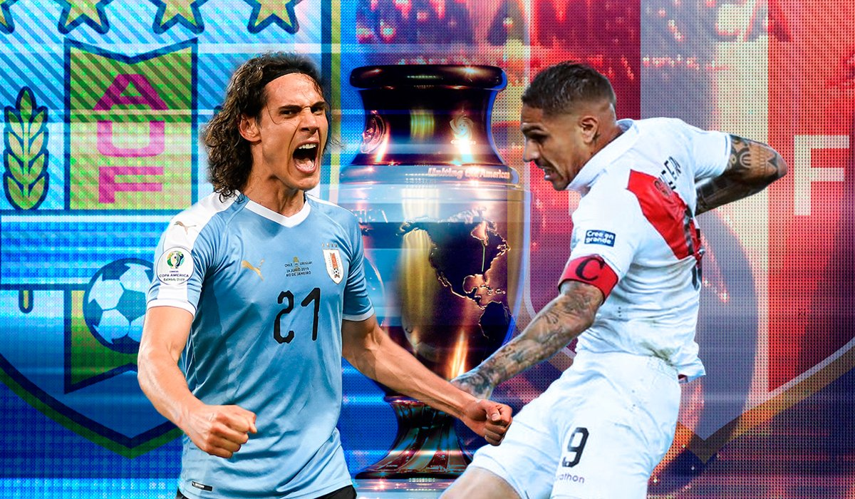 #CopaAmérica | Uruguay y Perú se enfrentan por el pase a semifinales