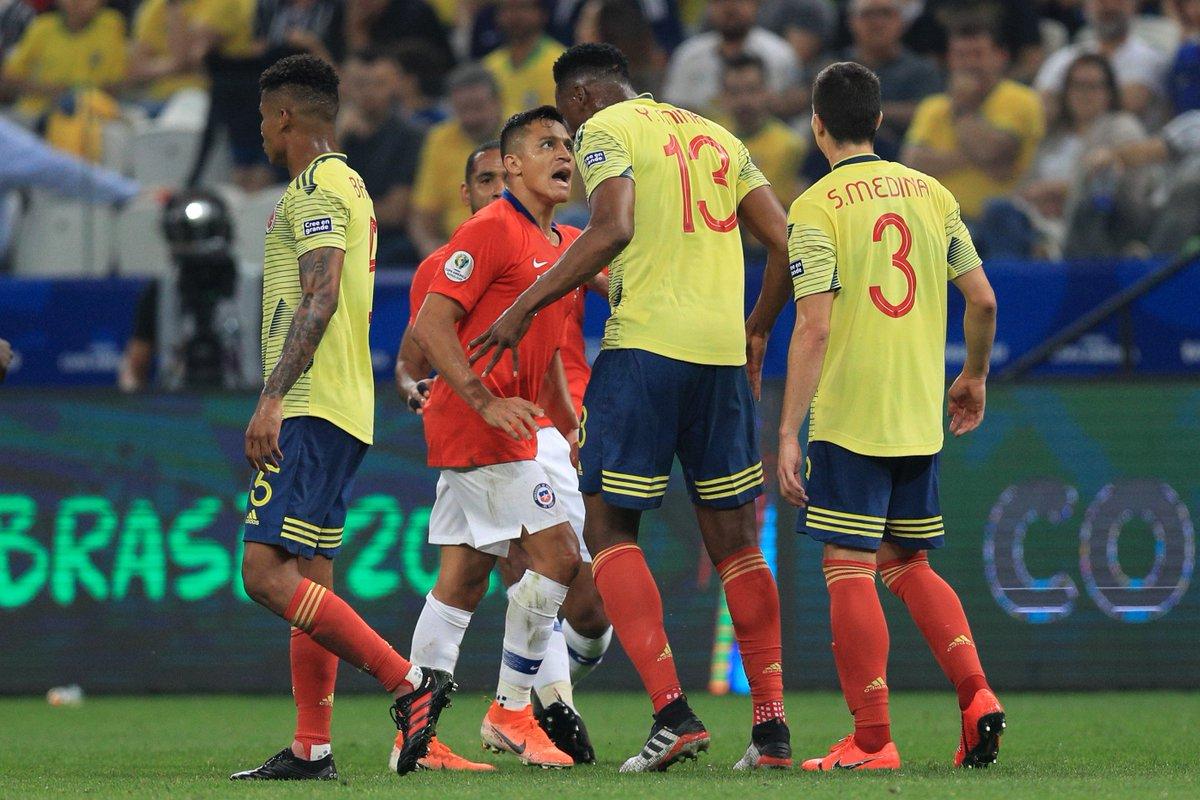 Video: Colombia vs Chile