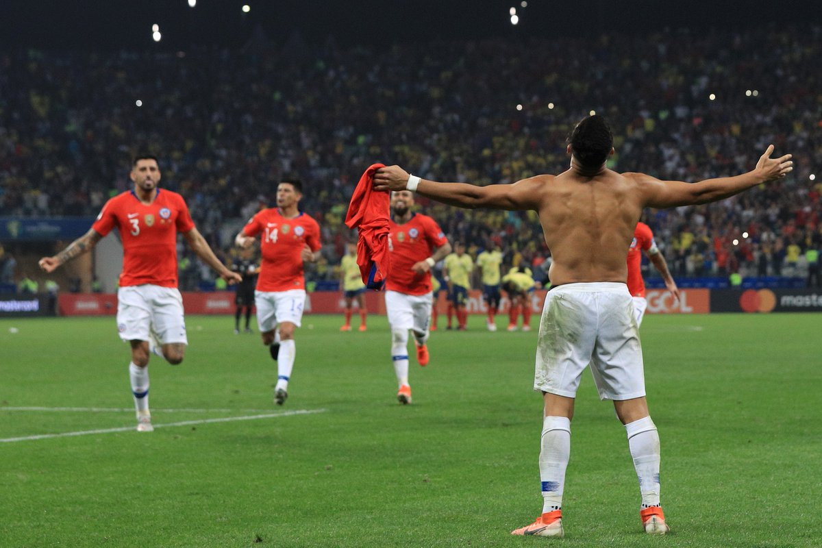 Копа Америка. Колумбия - Чили 0:0 (пен. 4:5). Цена одного промаха или идеальные удары от Ла Рохи - изображение 4