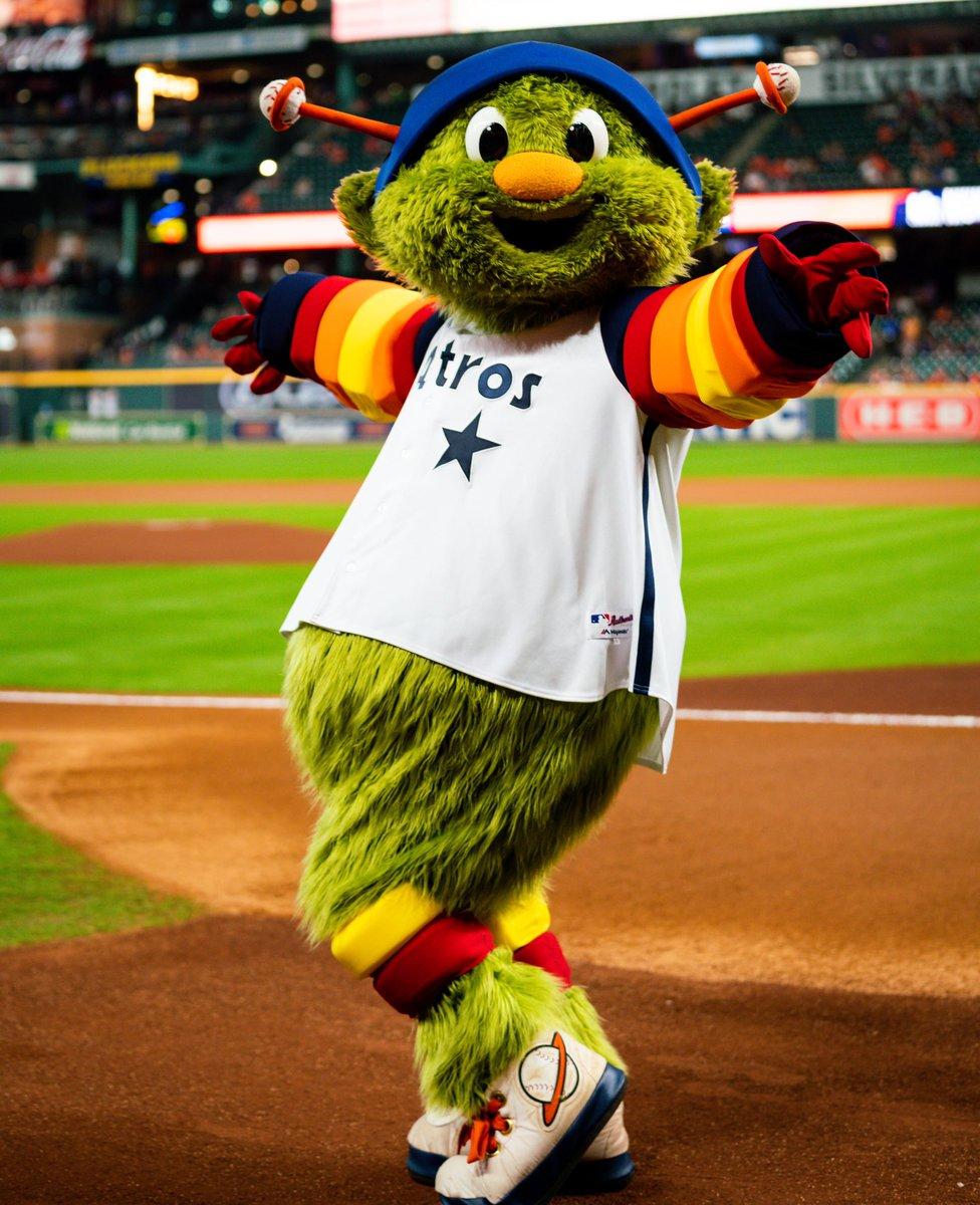 Astros Mascot >> Houston Astros Orbit On Twitter The 90 S Suuuure Were