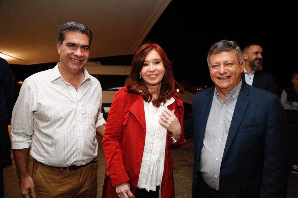 Chaco,Cristina Kirchner,Jorge Capitanich,Domingo Peppo