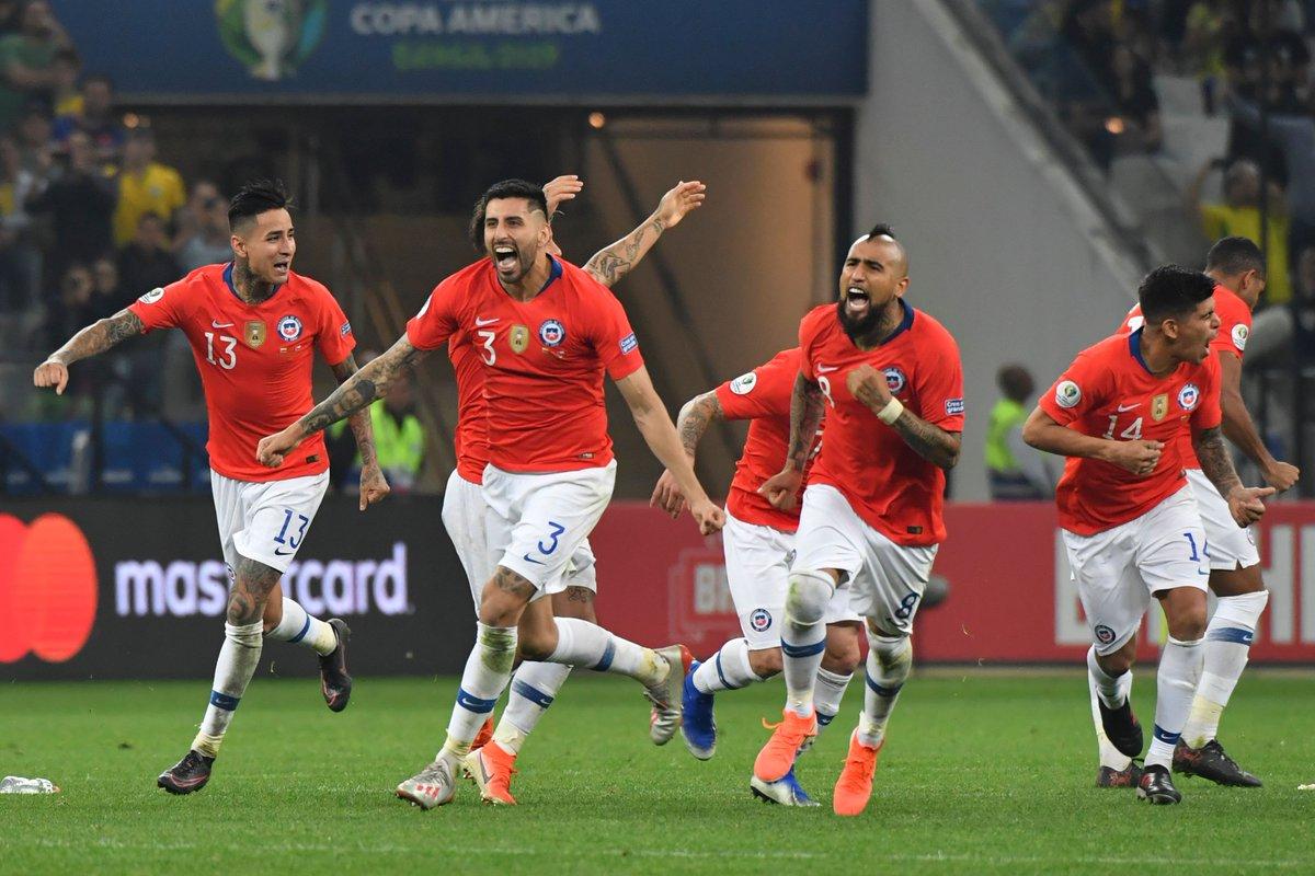 Копа Америка. Колумбия - Чили 0:0 (пен. 4:5). Цена одного промаха или идеальные удары от Ла Рохи - изображение 3