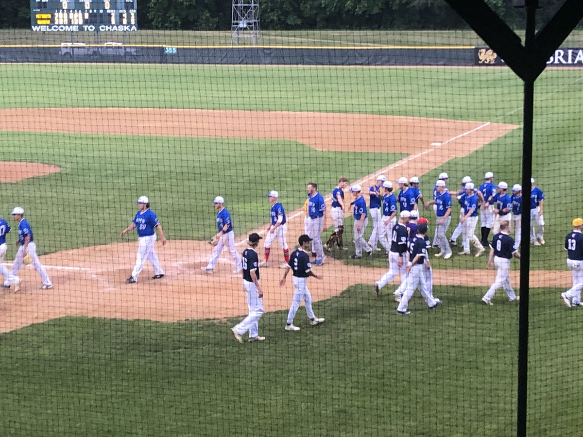 It's the Brenden Bethke show... North wins 5-3 to put thenselves in tomorrow's championship game!  Brenden had 3 hits, 4 RBI and pitched 5 innings.  Sacred Heart should be proud!