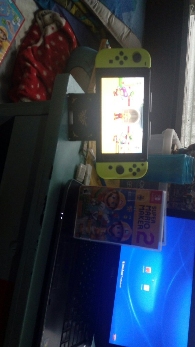 Finally playing super Mario maker 2 New video coming tonight #NintendoSwitch #SuperMarioMaker2