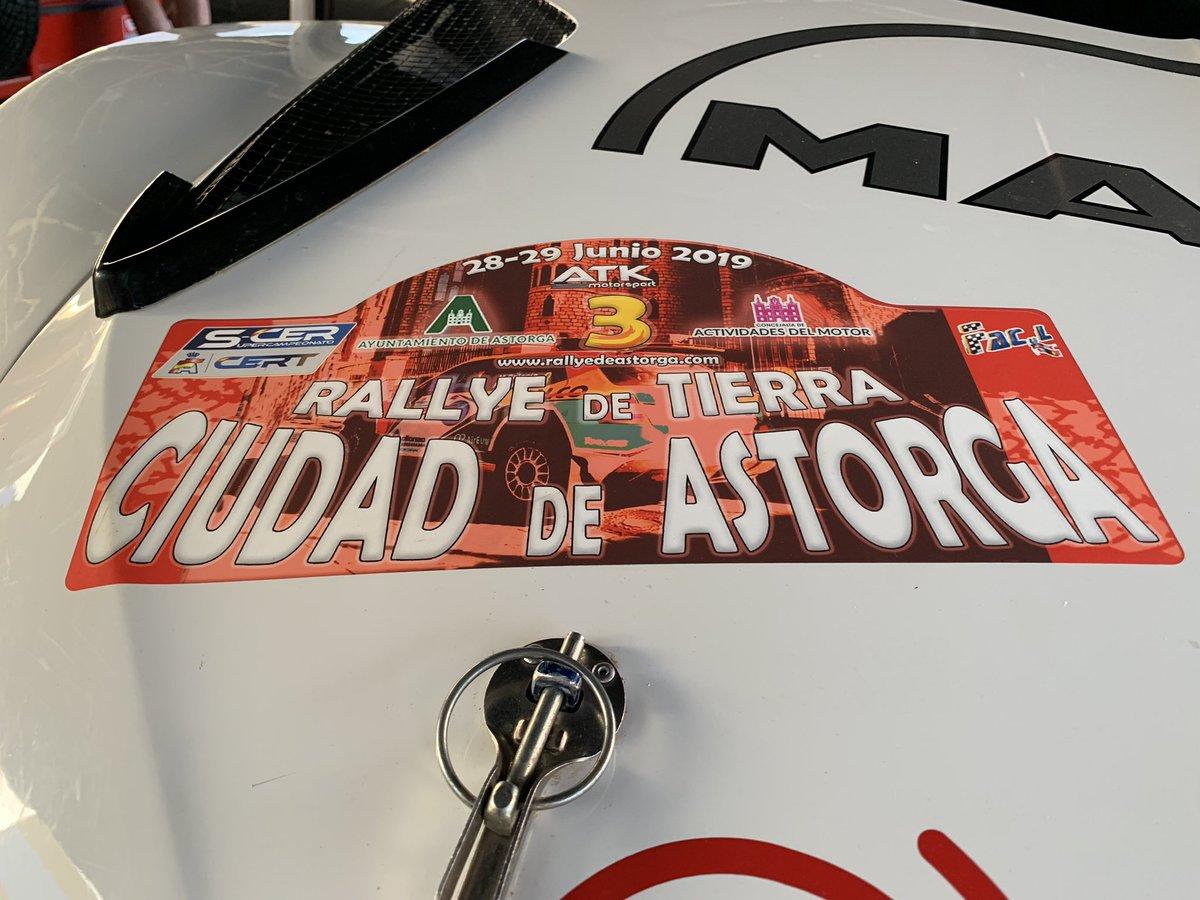 SCER + CERT: III Rallye de Tierra Ciudad de Astorga [28-29 Junio] D-NSOc3XYAAS2nG