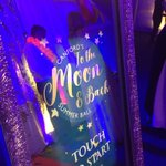 Celebrating @CanfordSchool Summer Ball #tothemoonandback #magicmirror #photobooth