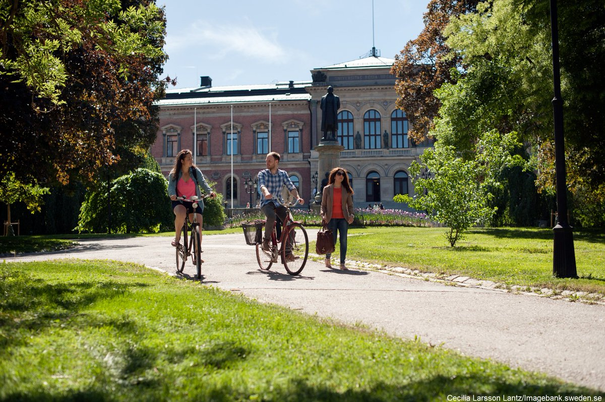 Uppsala – home to the Nordic region's oldest university, established in 1477. And a brilliant city for bike riders. Expecting larger crowds for fall...