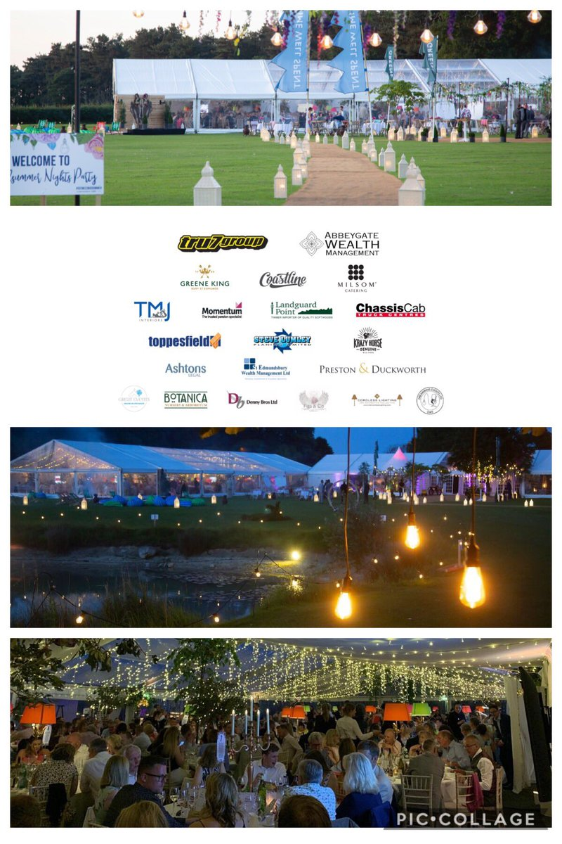 A week ago we held our #magical  #MidsummerNightsParty raising an astonishing £75,690 for our lovely small #Charity @geewizzcharity thank you @Swannyg66 @RickParfittJnr @MilsomCatering @greeneking @DreamWaveDave #GreatEvents Figa&Co #Volunteers @Crystalbarber01 #JadePerry 🎉👏😎
