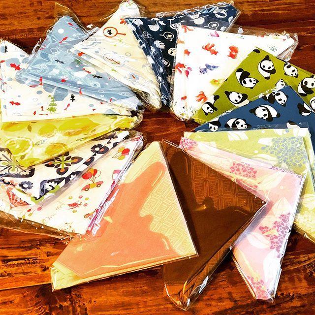 test ツイッターメディア - ミシンがメンテから帰ってきたのであずま袋を試し縫い!今回はキャンドゥとダイソーで買ってきた手ぬぐいで作りました!チョコレート柄がキャンドゥで売っててびっくりしたわ!激かわ! #ダイソー #キャンドゥ #あずま袋 #手ぬぐい #手作り https://t.co/KcmF08uSUT  https://t.co/YHqK7yiKSe
