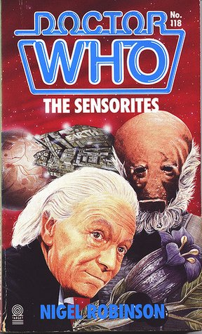 The Doctor Who: The Sensorites paperback novelisation was first published by Target Books in the UK on this date in 1987  Author: Nigel Robinson  Cover Artist: Nick Spender  #novel #publishing #book #story #DrWho #reading #scifi #fantasy #paperbacks #fiction #timetravel #coverart