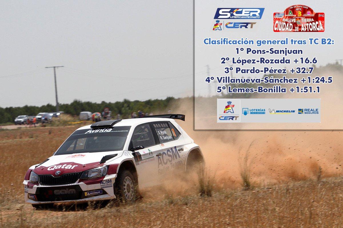 SCER + CERT: III Rallye de Tierra Ciudad de Astorga [28-29 Junio] D-OMILlWkAEeOpu