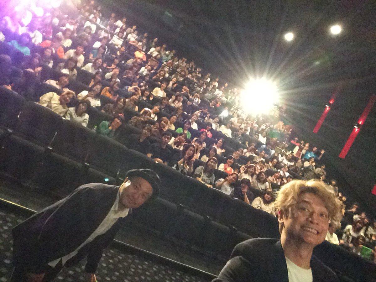 映画 #凪待ち 舞台挨拶in府中 今日は.川崎.横浜.府中で舞台挨拶させて頂きました。 明日は.錦糸町.西新井.流山に行きます。 何度も舞台挨拶出来て嬉しいです。 この映画が公開されている事を知らない方も沢山いると思います。 観て下さって.イイと思ってくれた方は是非周りの方にオススメして下さい!