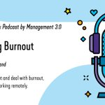Image for the Tweet beginning: How to combat burnout (especially
