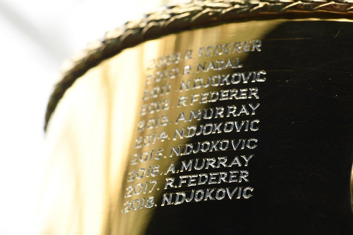 2019. ___________ #Wimbledon