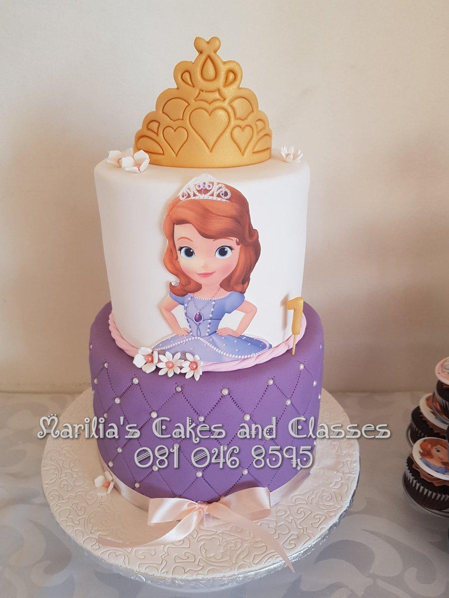 Amazing Marilia Cakes Deco On Twitter Djsbu Sophia The First Birthday Birthday Cards Printable Opercafe Filternl