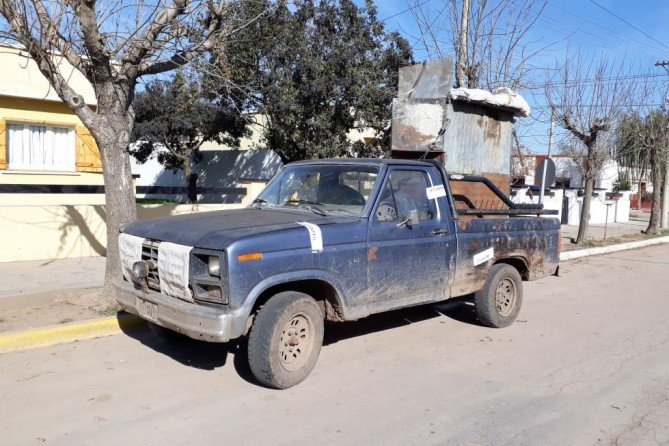#ColoniaBarón | Secuestraron una camioneta y multaron a cazadores furtivos