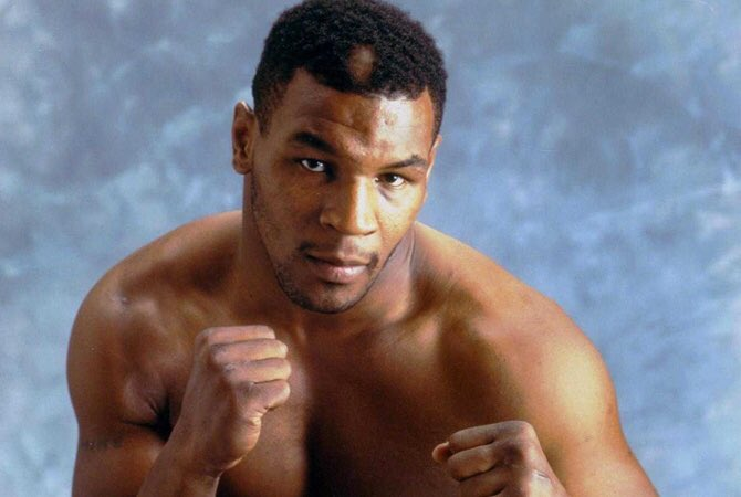 Today one of the most recognizable heavyweight boxers Mike Tyson was born.           Happy birthday Mike
