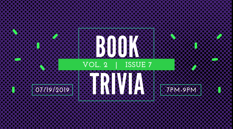Our next night of Book Trivia is Friday, July 19th at 7:00 pm—don't miss the fun! #BookmarksNC