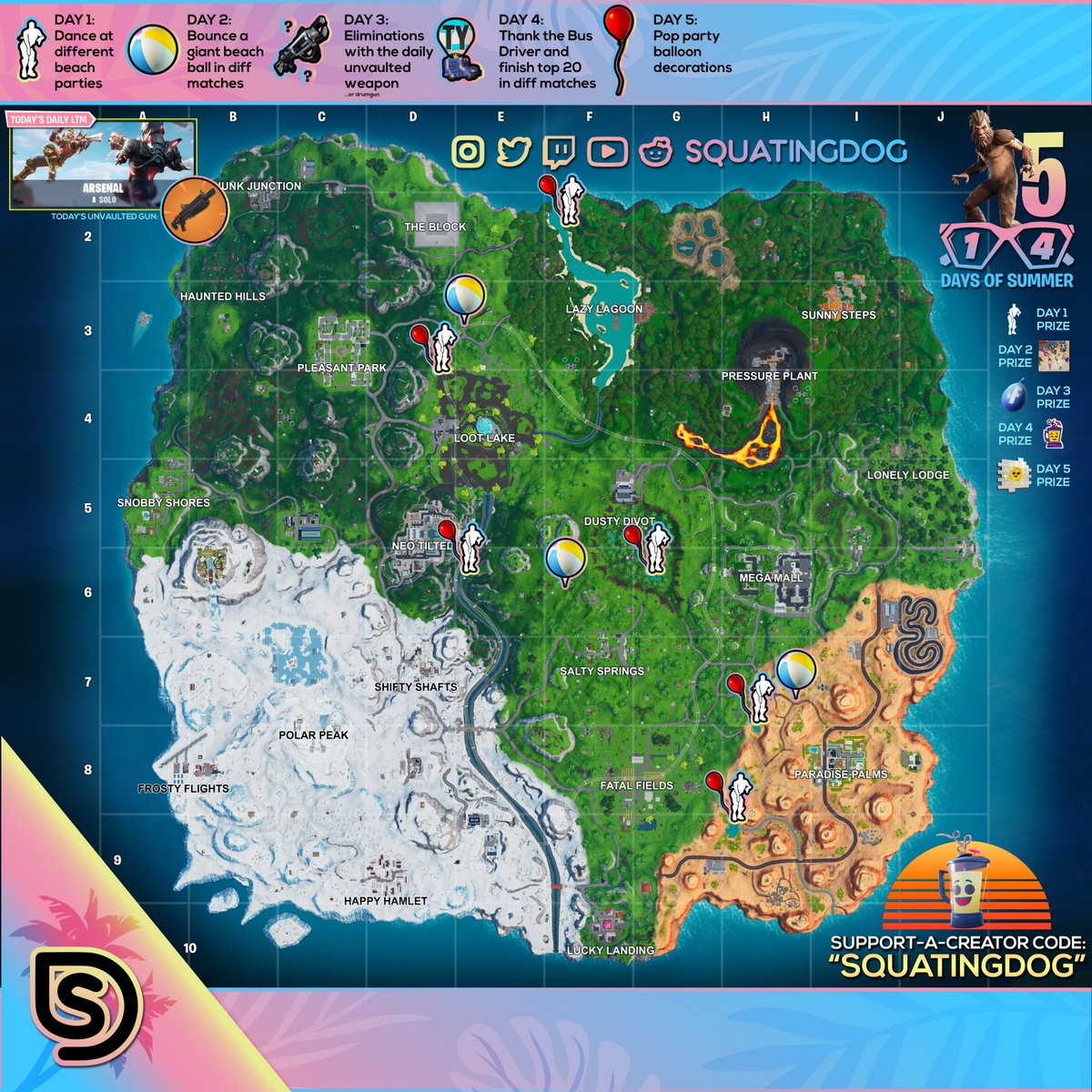 Squatingdog On Twitter Day 5 Of 14 Days Of Summer All