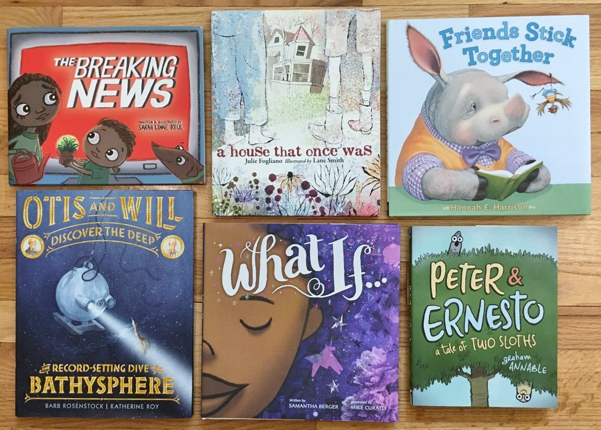 I'm offering a 💫PICTURE BOOK GIVEAWAY💫 this week for #teachers and #librarians. Follow & retweet to enter. (You have to follow to win.) Winner will be announced on Saturday, 7/6. US only. #kidlit #edchat #tlchat #kidsneedbooks @annbradenbooks @Jarrett_Lerner