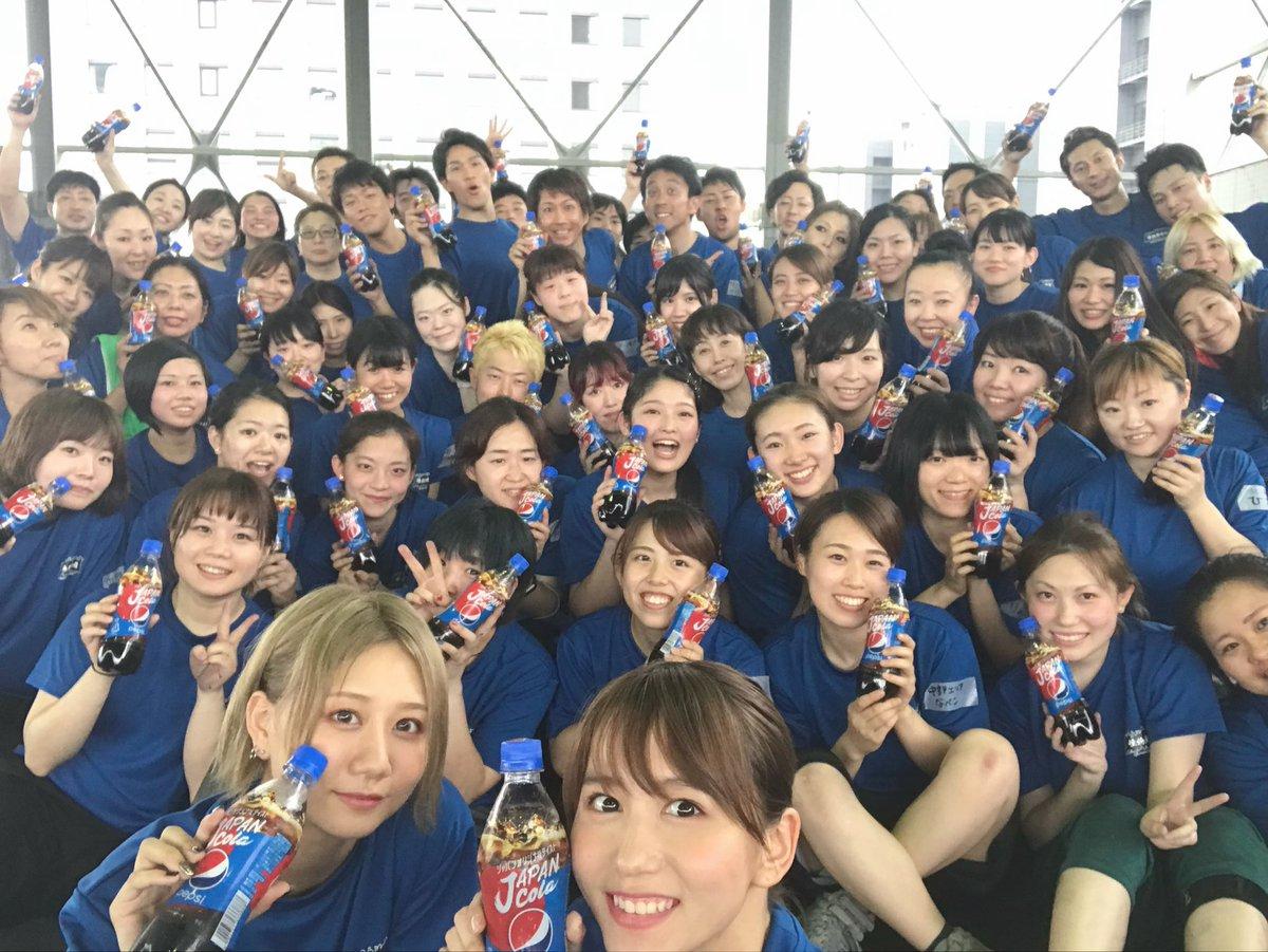 【 お知らせ🗓 】 #ペプシ #ジャパンコーラ さんが 結成した #怪物舞踏団 の一員として #SKE48 から私と古畑奈和ちゃんの2人で 8/24(土)25(日)の2日間で 「#日本ど真ん中祭り」に挑戦します🔥 みんな応援してね〜😊👏🏻