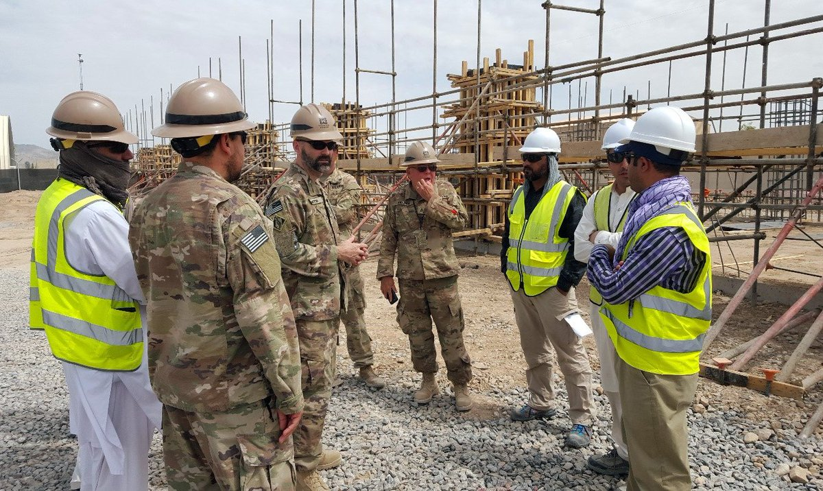 """The Afghanistan District is """"Building Strong"""" in support of the Afghan National Defense Security Force in Kandahar."""