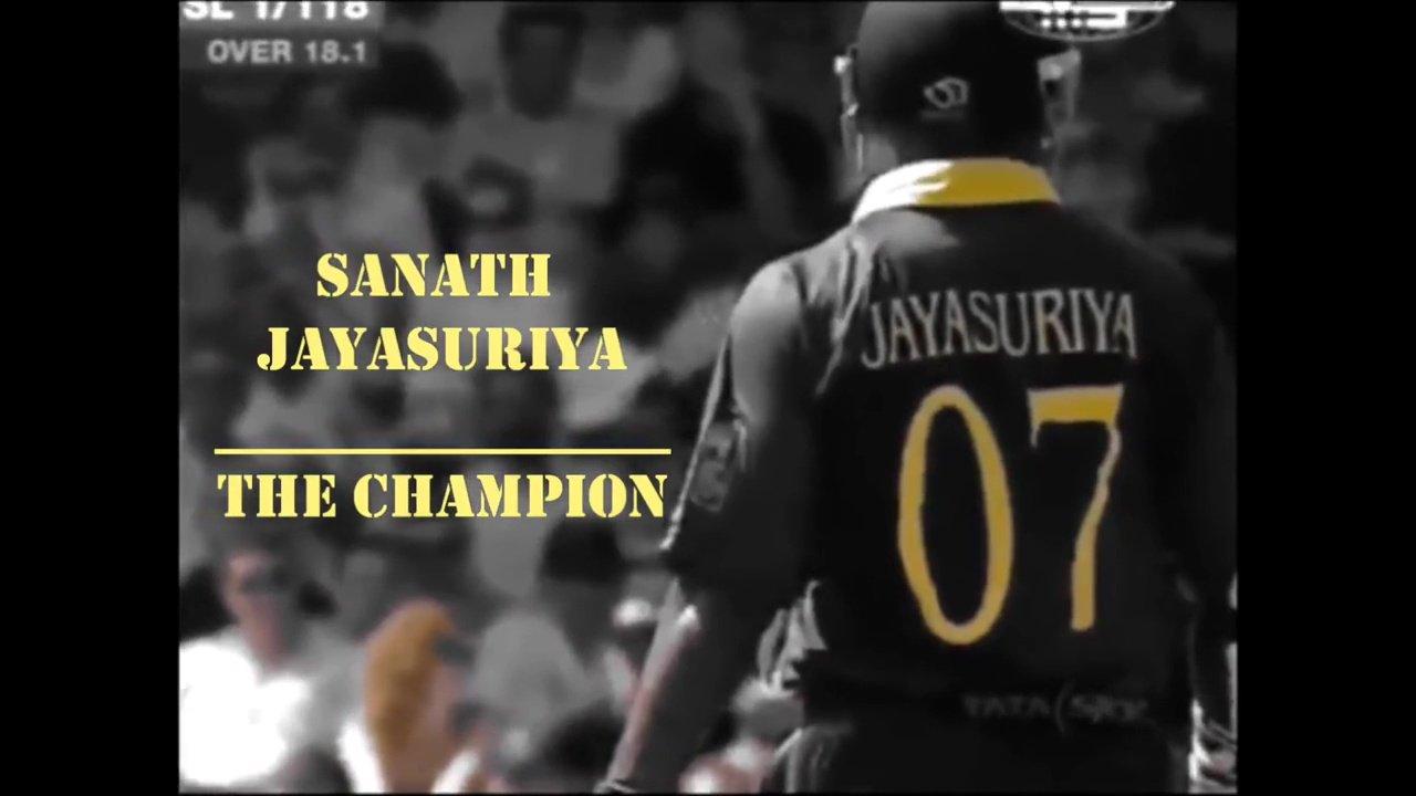 Happy Birthday Champ! Sanath Jayasuriya | The Champion