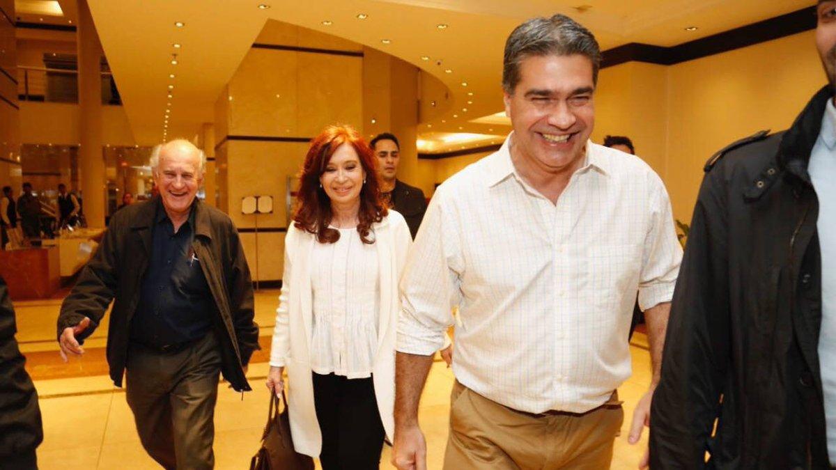 Cristina Kirchner llegó a Chaco para presentar su libro