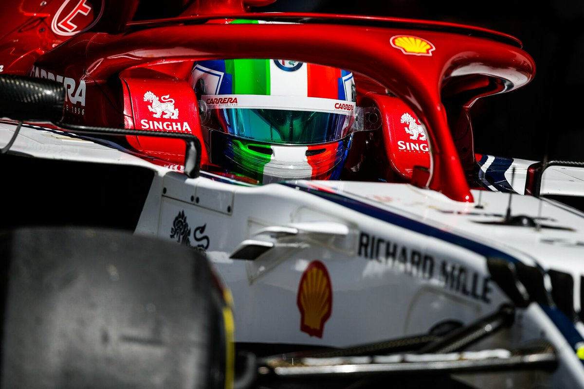 Quello che mi ha portato fino a qui è stato crederci in ogni istante! Quello che continuerò a fare è dare il meglio in ogni istante! Arriviamo alla gara carichi e sereni. Domani dobbiamo divertirci 🔥🇮🇹 #F1 #AustrianGP🇦🇹 #AlfaRomeoRacing #AG99🐝