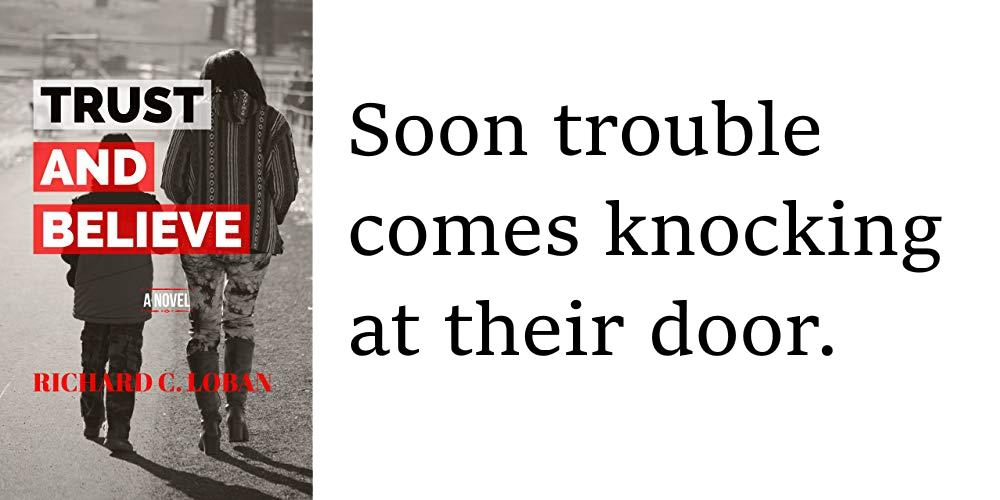 Soon trouble comes knocking at their door. TRUST AND BELIEVE by @rloban41 Amazon:  #family #fiction #kindle #book #novel
