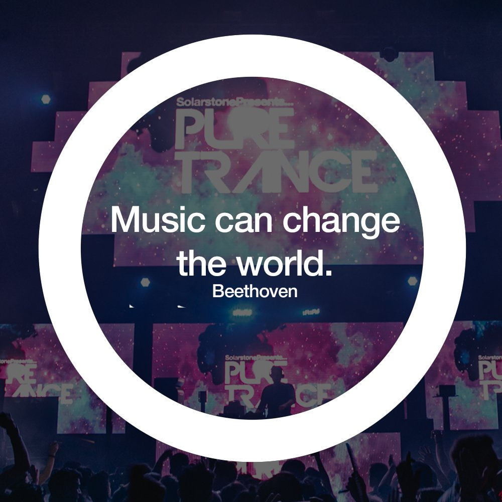 In what way has (trance) music changed your world?! 🌍 Tweet