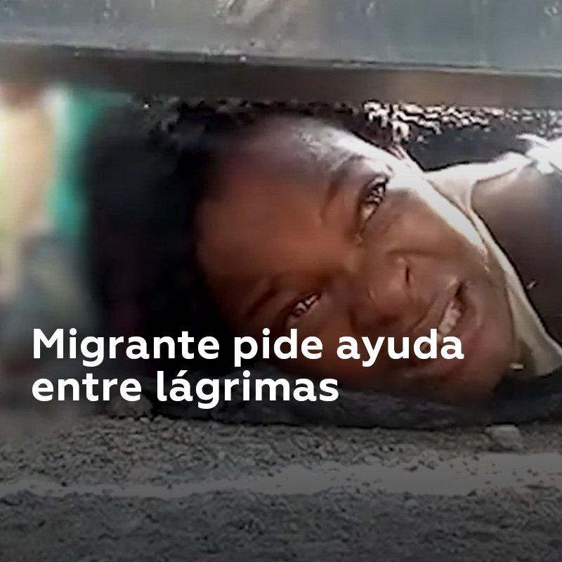 Mi hijo está muriendo El video de una mujer haitiana que clama por ayuda para su hijo desde un refugio para migrantes en Chiapas (México) se suma a la serie de fuertes imágenes que reflejan la crisis migratoria de los ciudadanos centroamericanos en su camino hacia EE.UU.