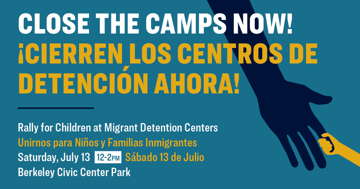 Close the Camps Now! - Rally for Children at Migrant Detention Centers @ Civic Center Park (MLK Park)