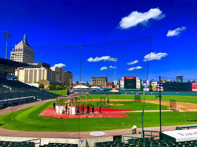 Rochester Red Wings post 19 runs for the second time this month