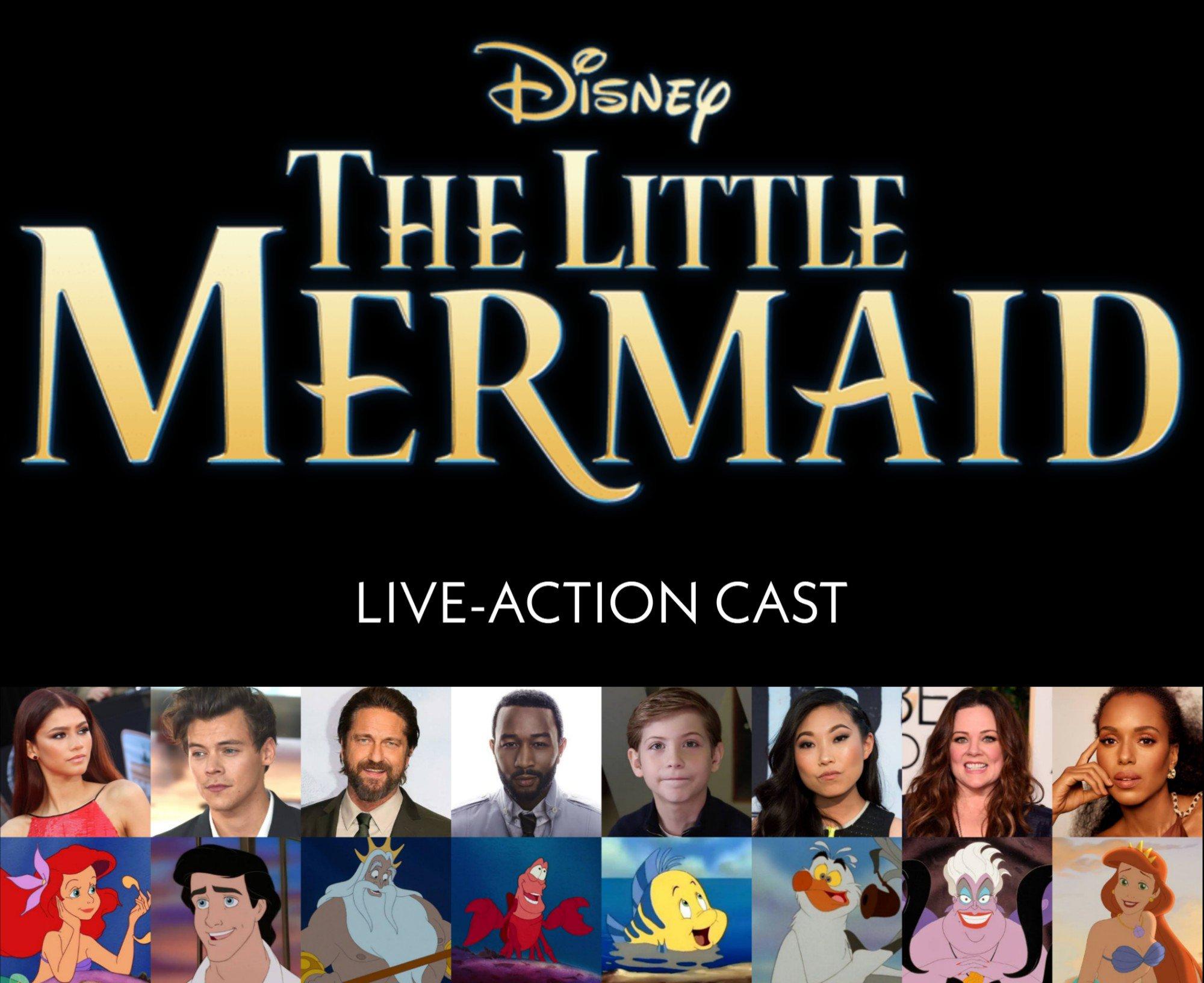 the little mermaid live cast