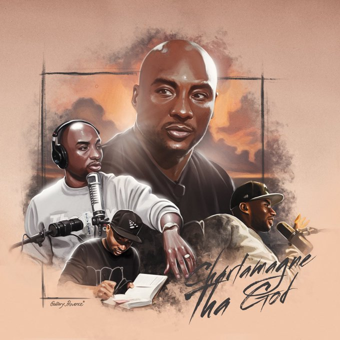 HAPPY BIRTHDAY CHARLAMAGNE THA GOD BY GALLERY PROVENCE