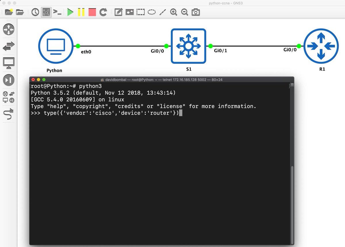Python Telnet Cisco