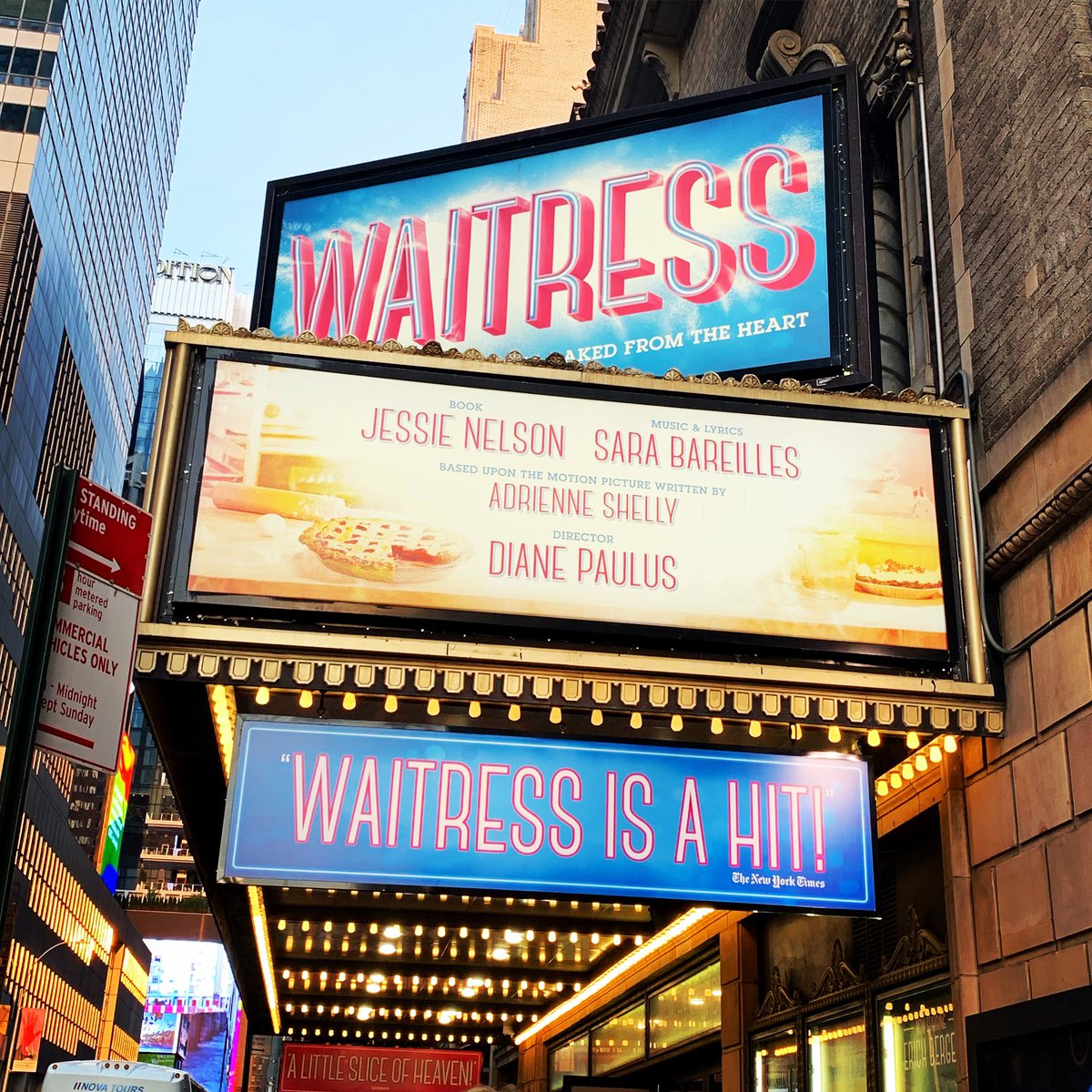 Go see @WaitressMusical on #Broadway...it's amazing!!! 🎶👏❤️🥧 😍