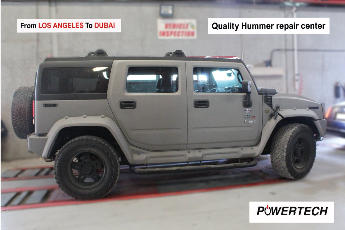 Powertech Auto Services On Twitter Hummer H2 Powertech Auto Services Suspension Repair Brakes Service Leather Seats And Headliner Work Powertech Focus 100 Customer Satisfaction American Super And European Car Repair Center