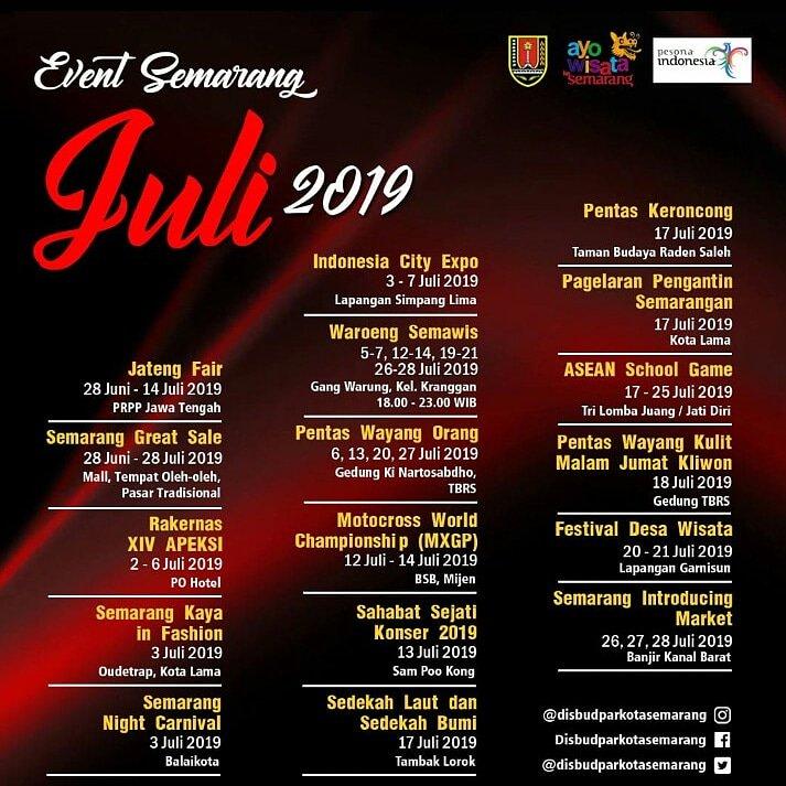 Smp 15 Semarang On Twitter Event Semarang Juli 2019