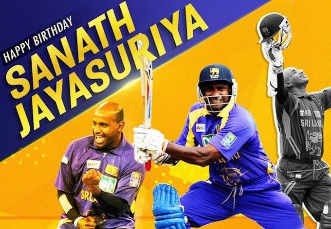 Happy Birthday, Sanath Jayasuriya