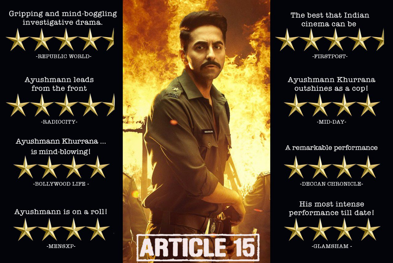 Sinopsis Lengkap Film India Article 15, Ulasan, Review