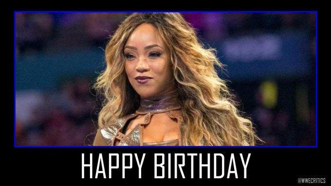 Happy Birthday to Female Superstar Alicia Fox