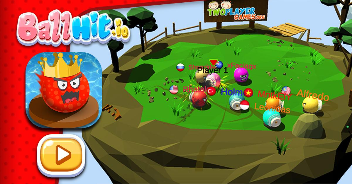 BallHit io Game - PLAY NOW! Tweet added by Two Player Games